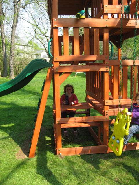 Backyard Discovery Jungle Gym Gets High Marks Stephanie - Backyard jungle gyms