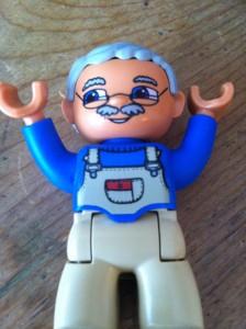LEGO farmer