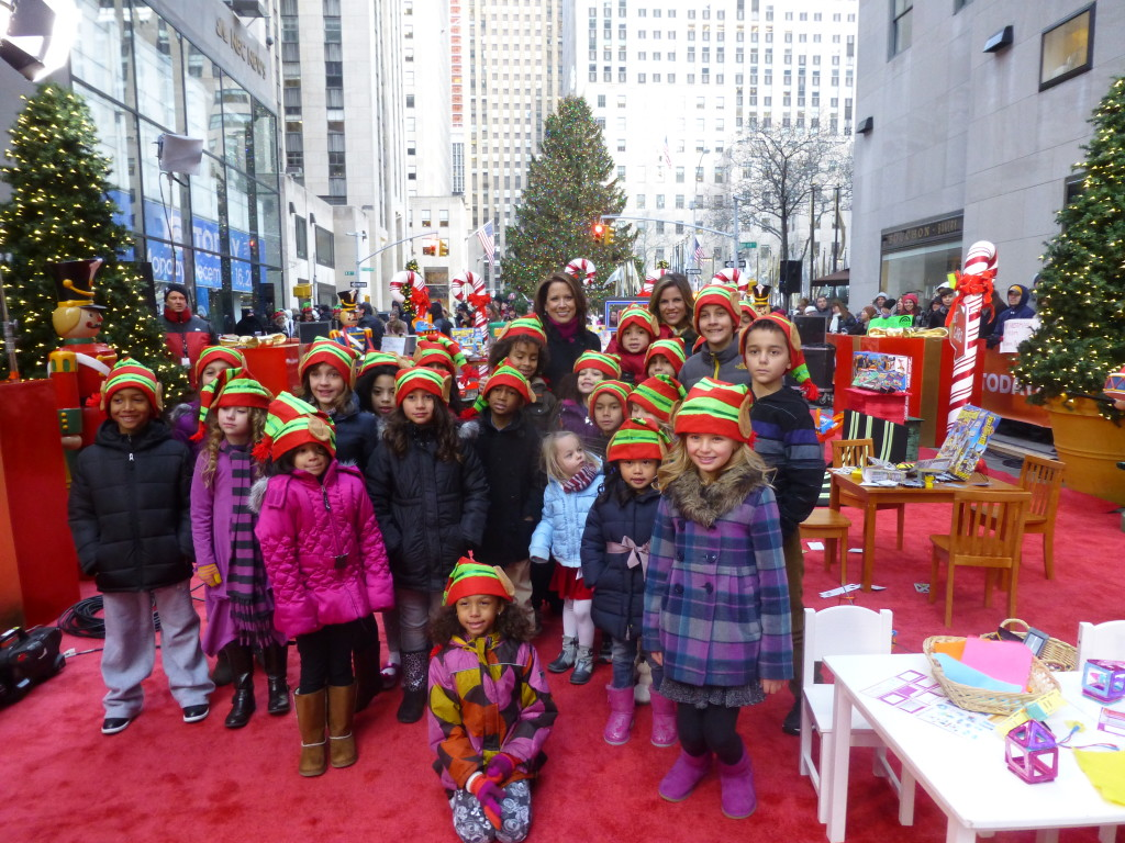"Today Show Toy Test ""Elves"" with Natalie Morales and Stephanie Oppenheim"